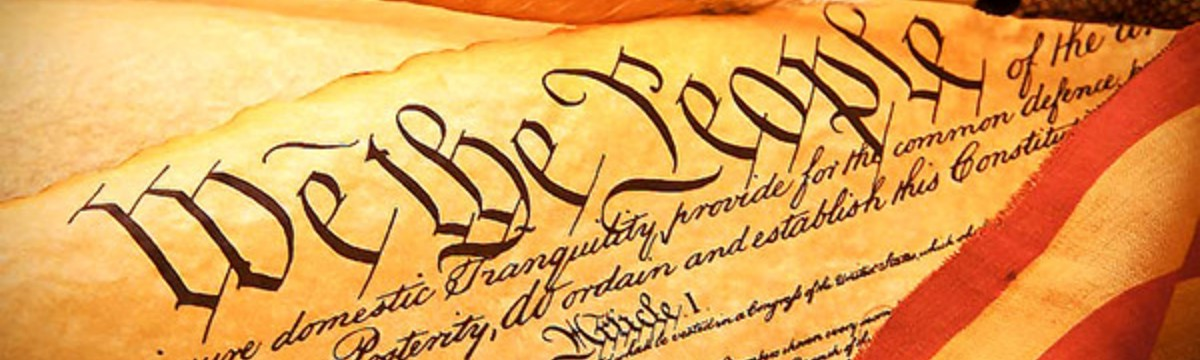 """An image of the Constitution's use of """"We the People."""""""