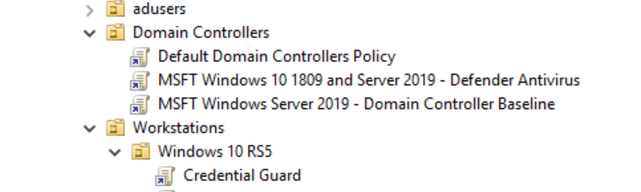 An in depth look at Server 2019 and Windows 10 RS5 Security Baselines