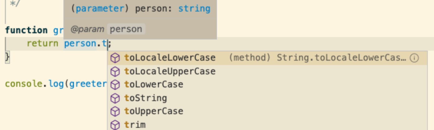 Type hints in vscode while using ts annotations in.js
