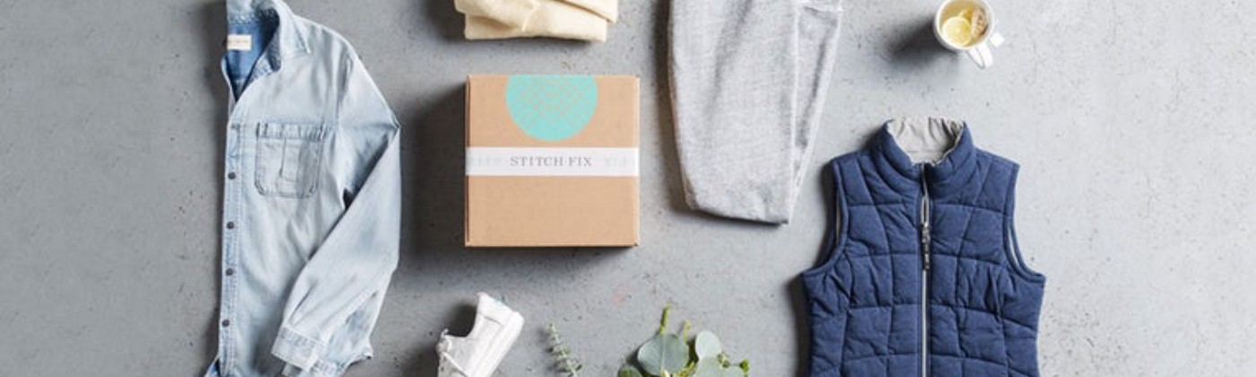Stitch Fix's image of clothing that comes in its deliveries