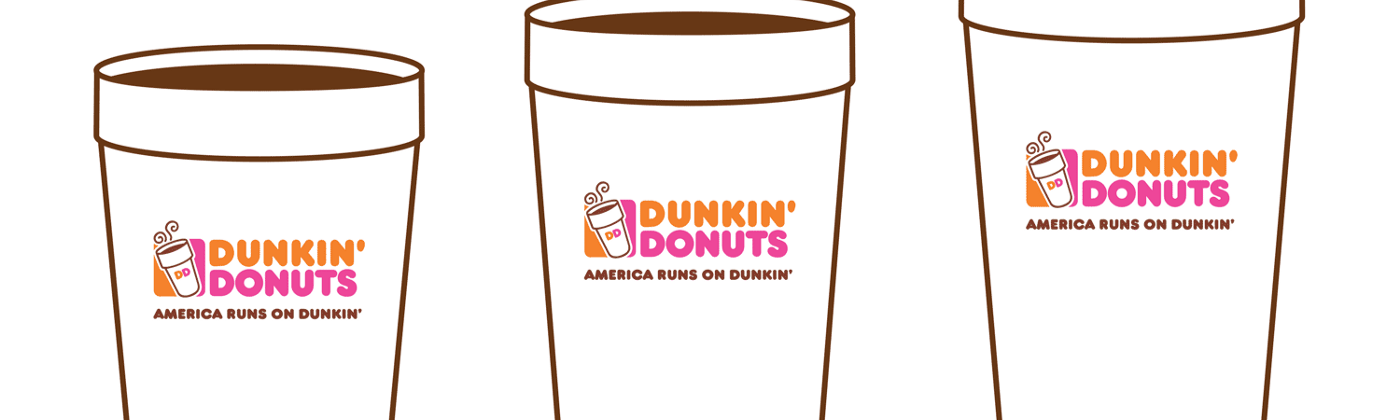 Standard flavor swirl pumps for Dunkin' Donuts coffee
