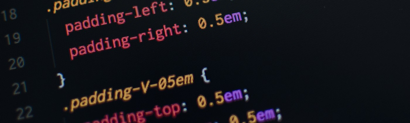 screen with CSS selectors