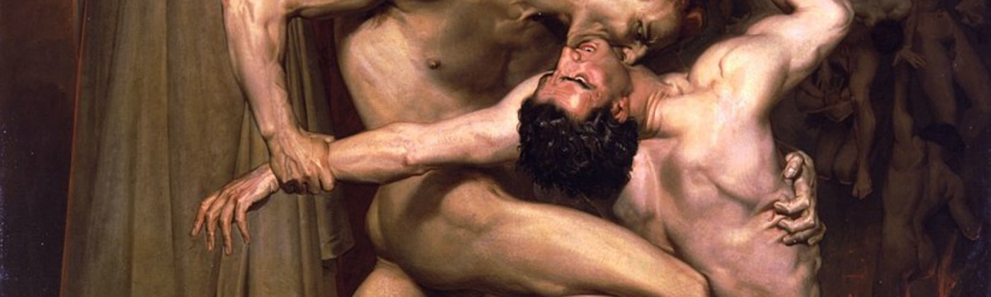 Dante And Virgil In Hell—William-Adolphe Bouguereau, 1850