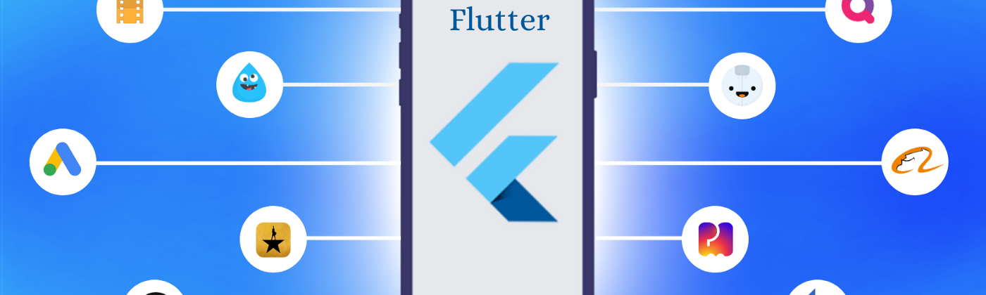 Top mobile apps built using Flutter framework