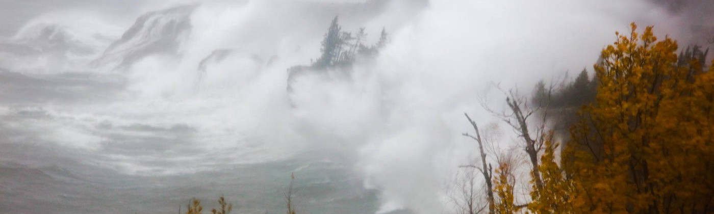 LAKE SUPERIOR DURING OCTOBER 2019 STORM