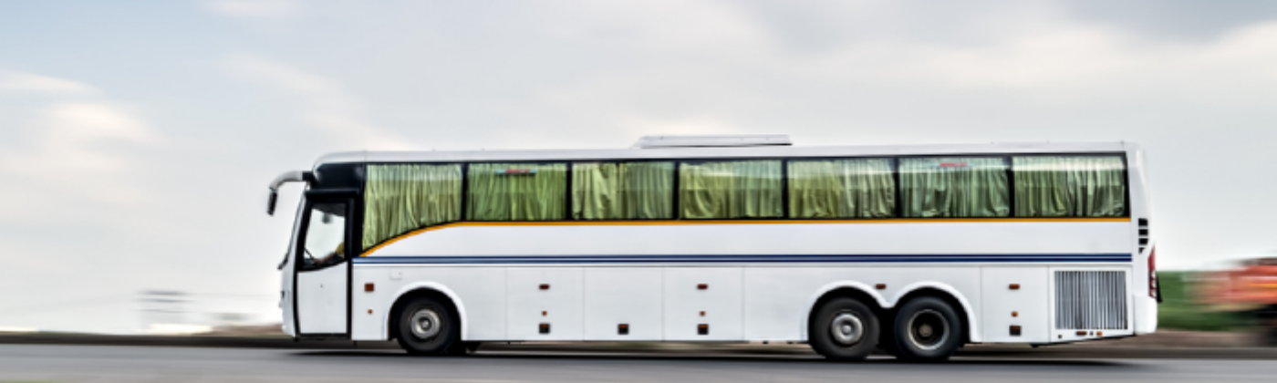 Traveling by bus is the safest option in India post-COVID19.