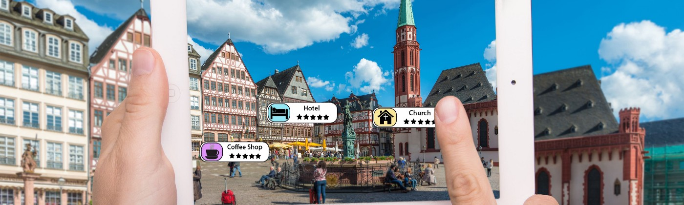 how is augmented reality used in travel tourism