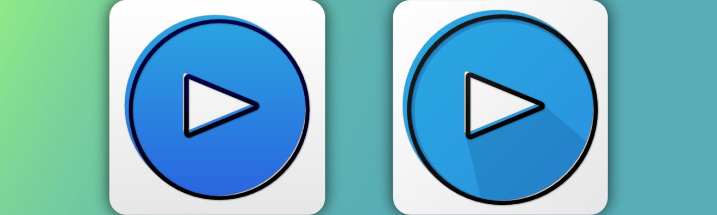 Current and re-designed Amazon Prime Video app icons.