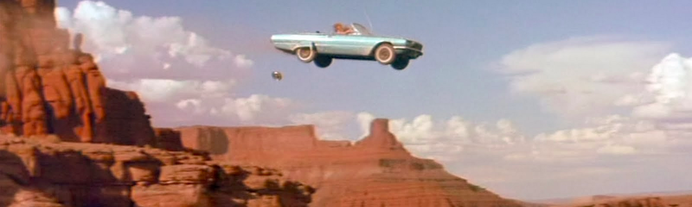 Image result for driving off a cliff