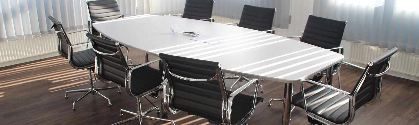 Law firm conference table