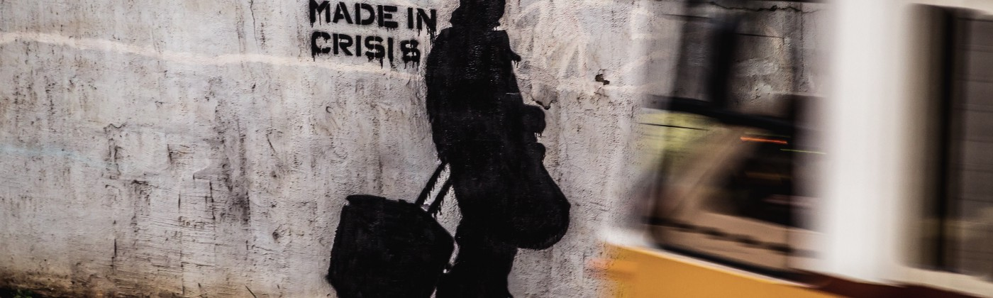 Made in crisis graffiti