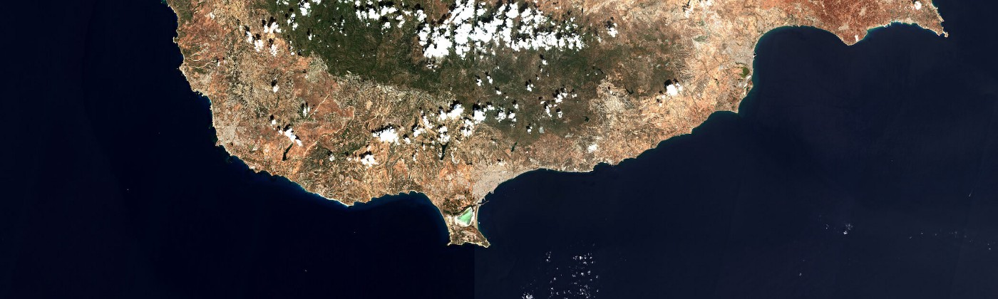 Cyprus captured from European Space Agency satellite — Sentinel 2