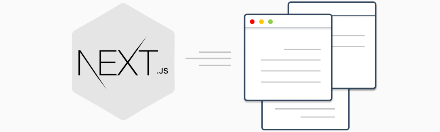 static site with next.js