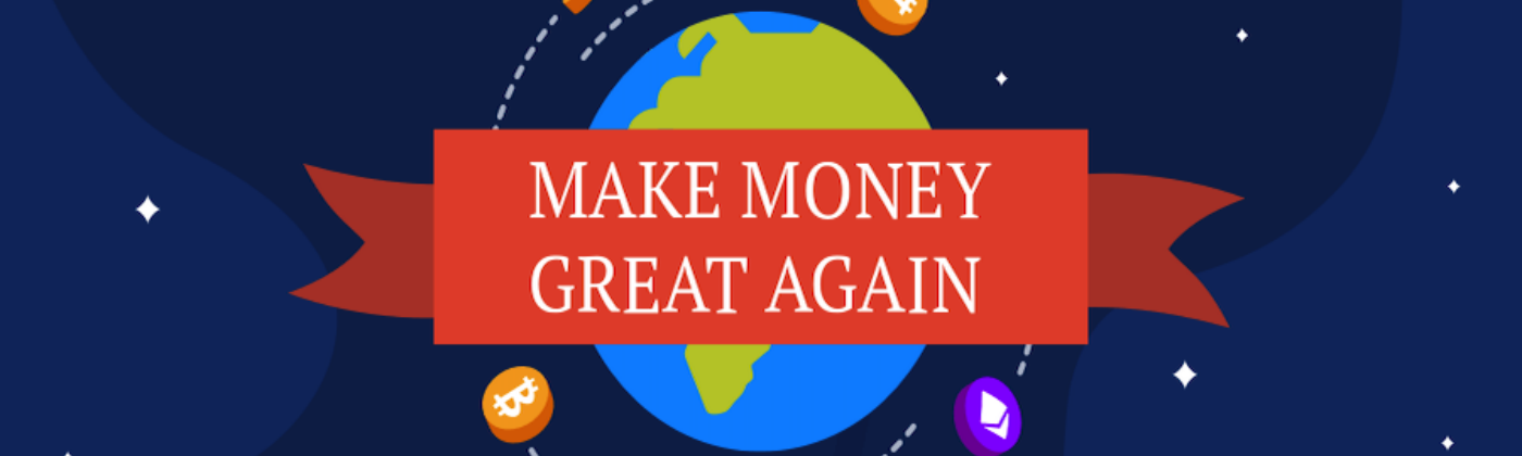 Make money great again cover photo