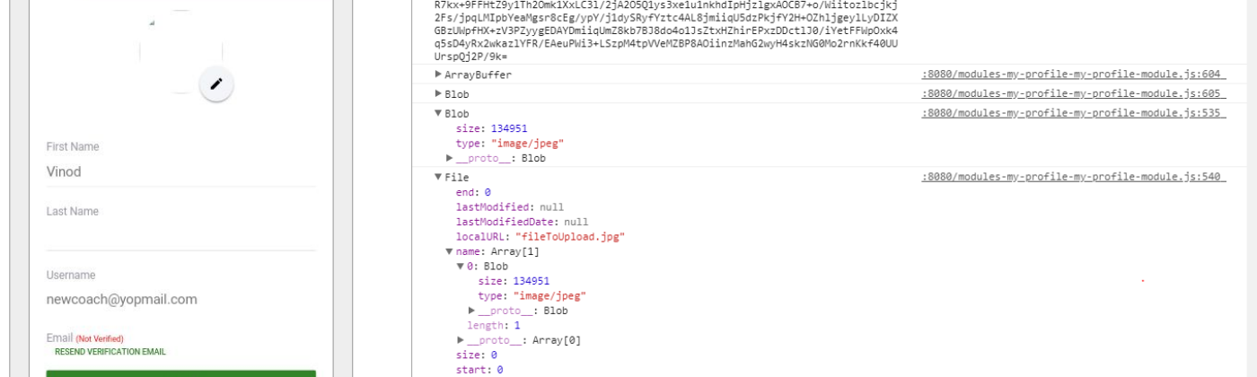 i have cross checked my base64 stringby pasting into some online