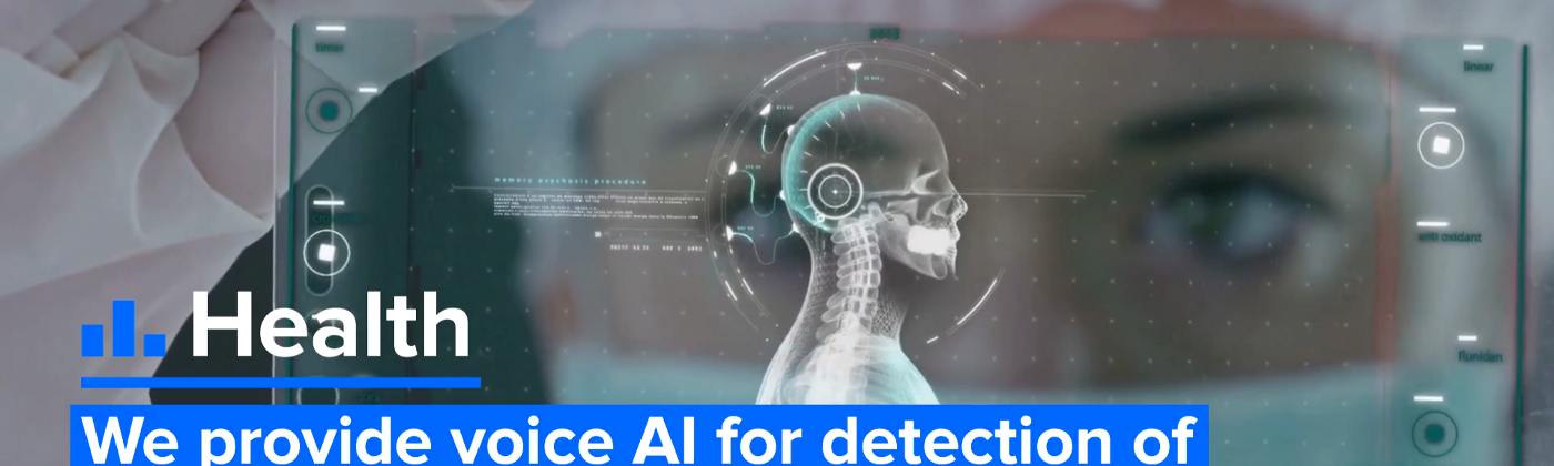 OTO's AI technology is already being used for the detection of early onset Alzheimer's Disease