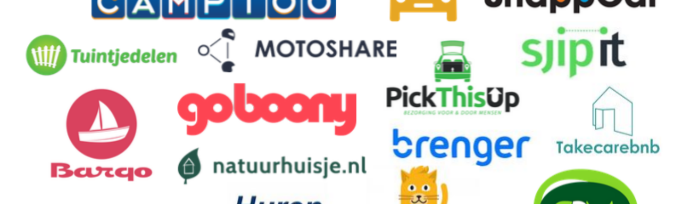 These are all 33 Dutch sharing platforms.