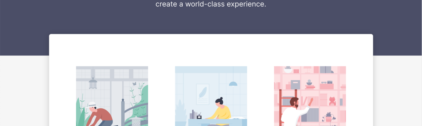 Kaizen homepage shows a visual overview to Guidelines, Language, and Components. Primary navigation also links to Storybook.