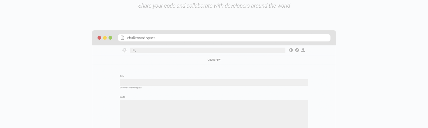 Chalkboard | Share your code and collaborate with developers around the world
