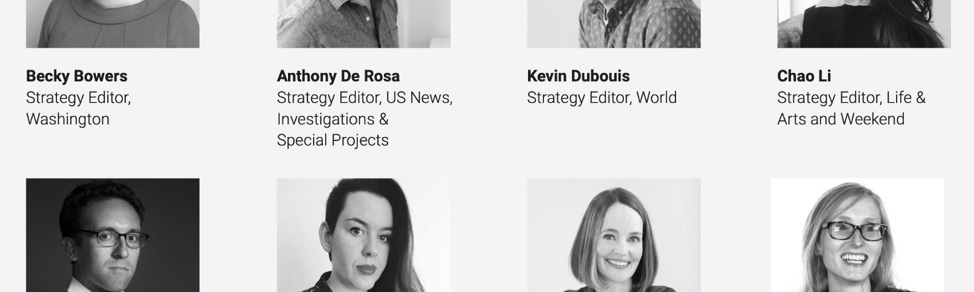 Headshots of WSJ Strategy Editors