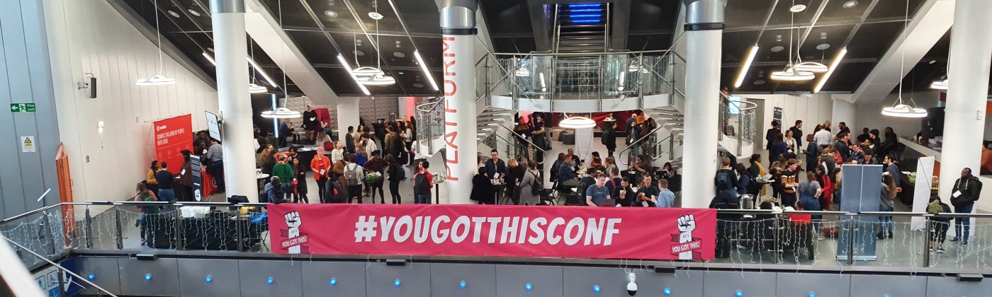 YouGotThis 2020 banner and people