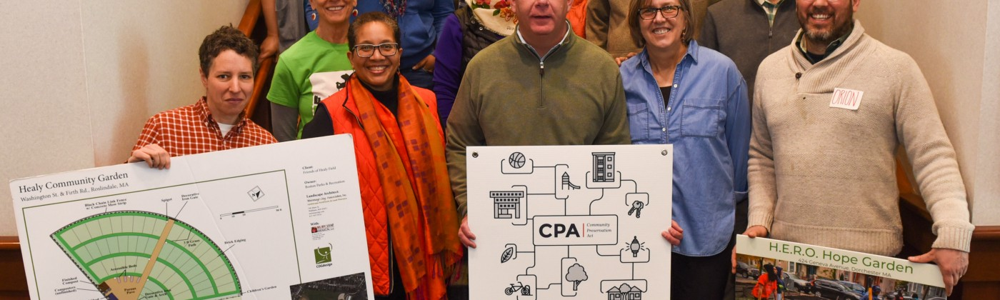 Mayor Walsh joined CPA grantees at the 44th Annual Gardeners Gathering by the Trustees on March 23, 2019.