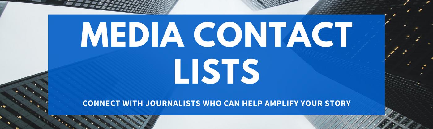 media contact list, journalist contact list, medium writer tools, blogging guide, medium tools, media contact list template
