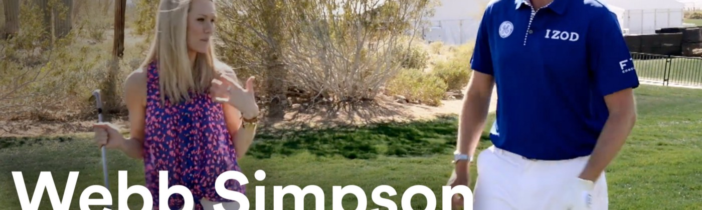 Web Simpson — a tour golfer & US Open Champion