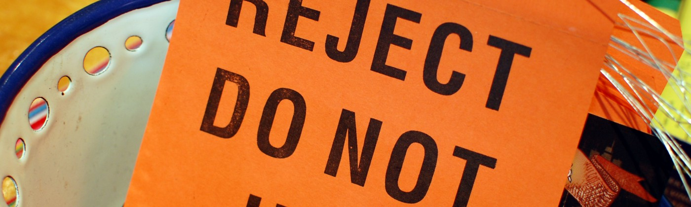 Reject sign
