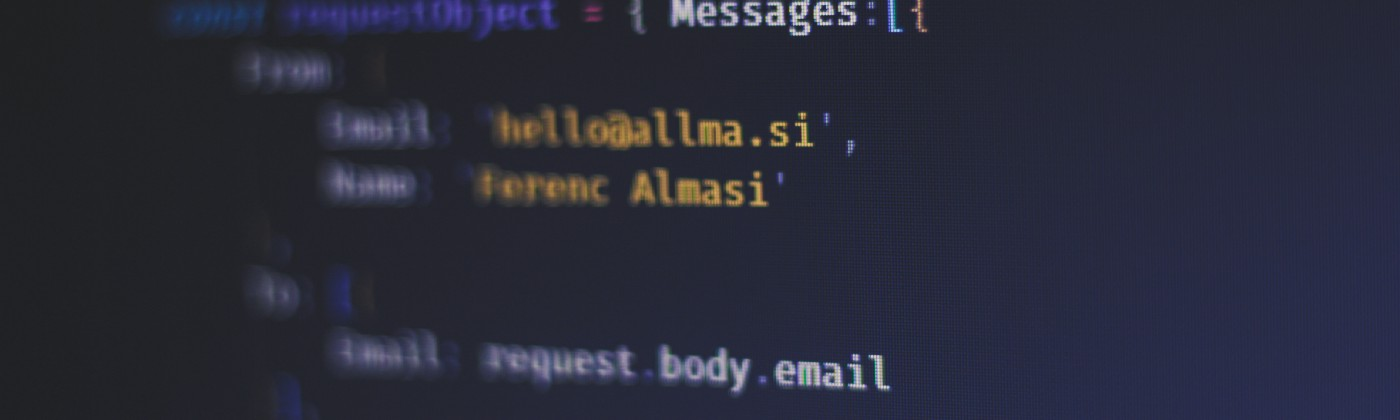 Sending email with Mailjet