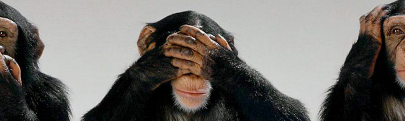 See no evil monkey… bitcoin blackmailers