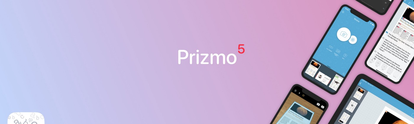 Prizmo 5 Splash Header Image