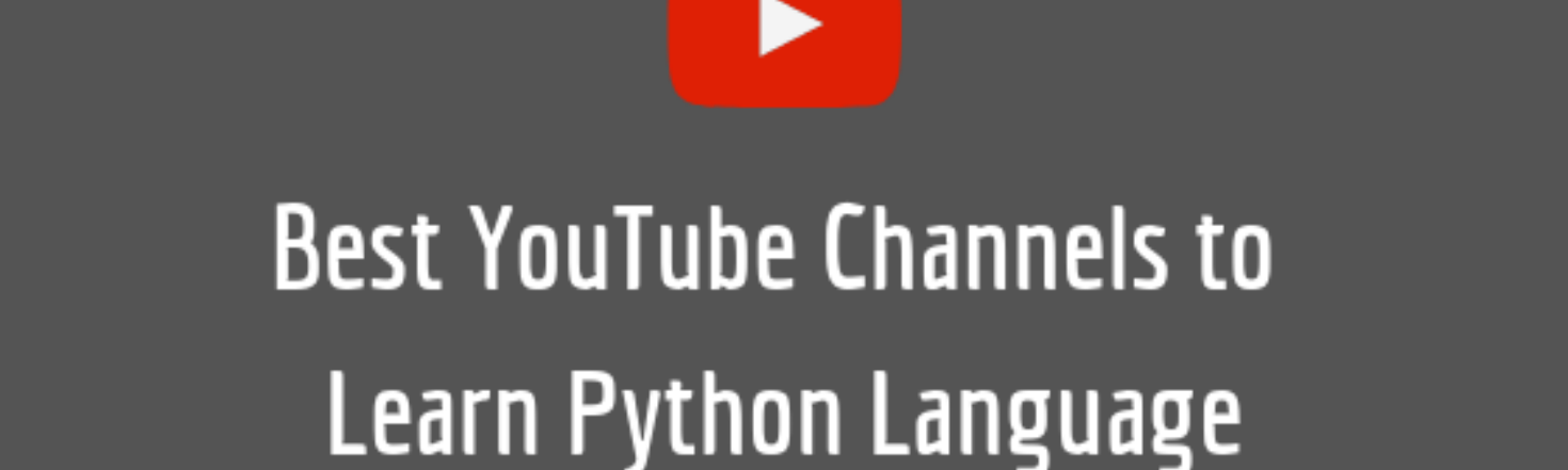 Best YouTube Channels to Learn Python Programming | by Present Slide |  Medium