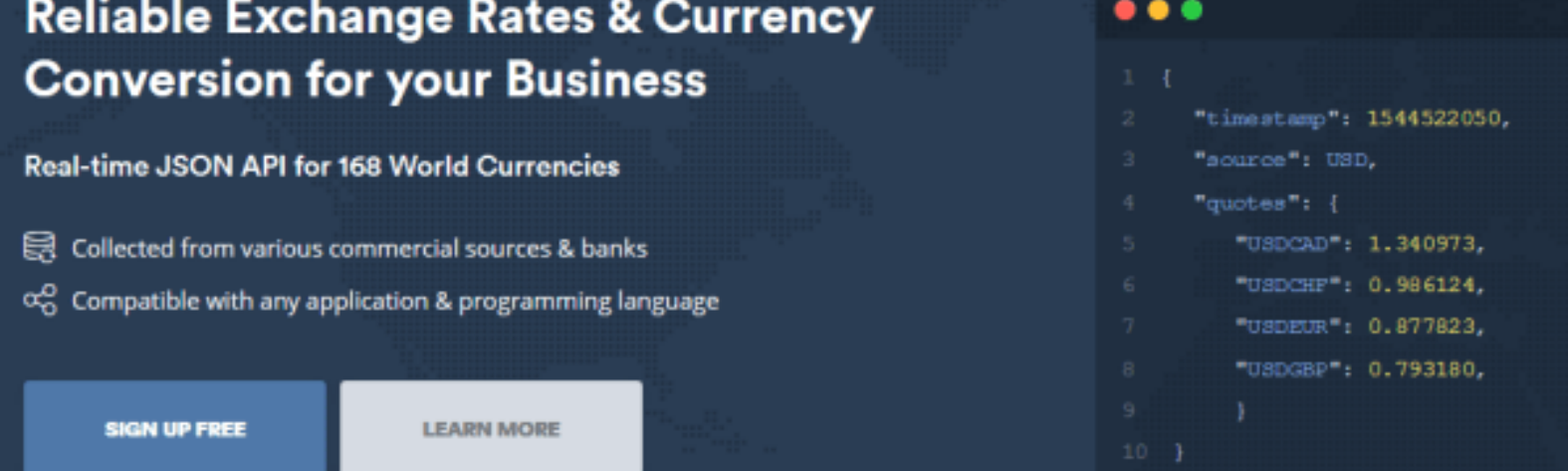 Currency And Forex Apis Oanda Xe