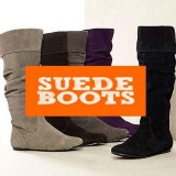 Suede Boots!