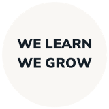 We Learn, We Grow