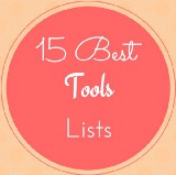 15 Best Tools Lists