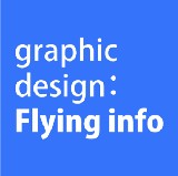 graphic design:Flying info