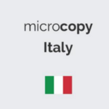 Microcopy & UX Writing in Italia