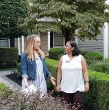Melissa and Trishna for Mendham Township