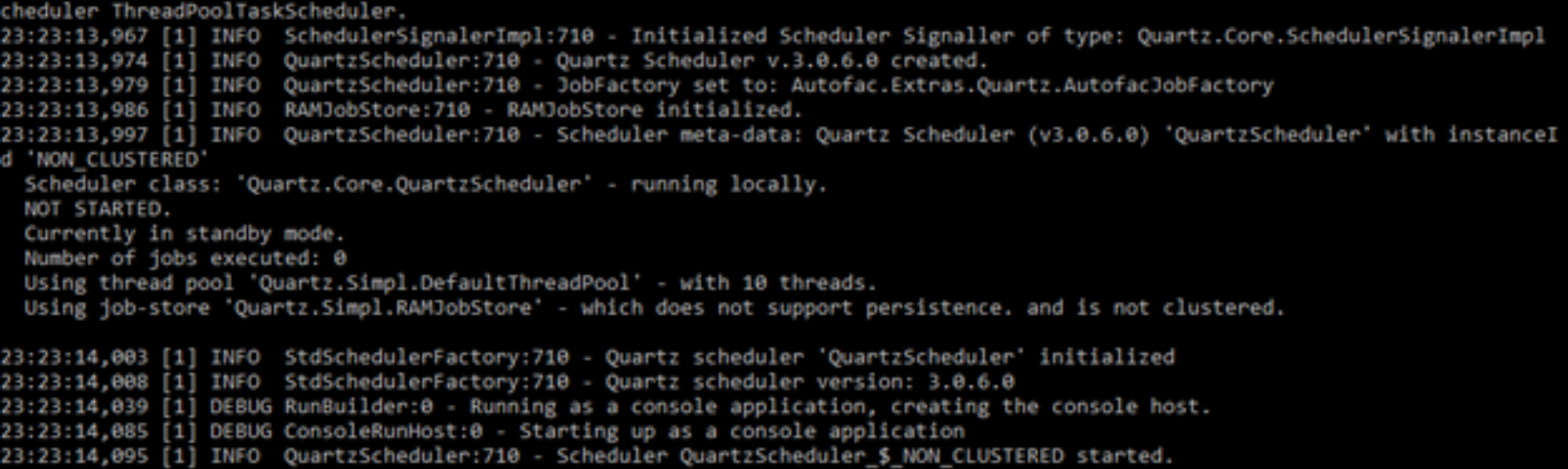 How to: Schedule jobs from a Windows Service using Quartz — Part 4