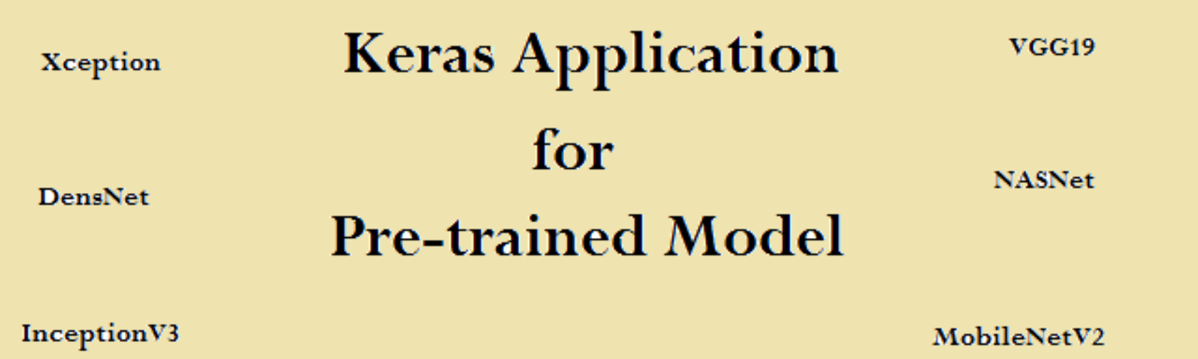 Keras Application for Pre-trained Model | engMRK