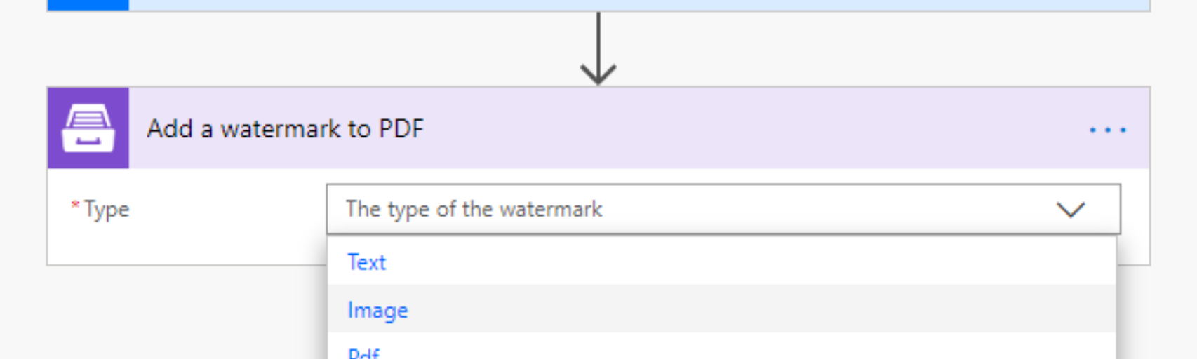 How to add a watermark to a PDF document using Microsoft