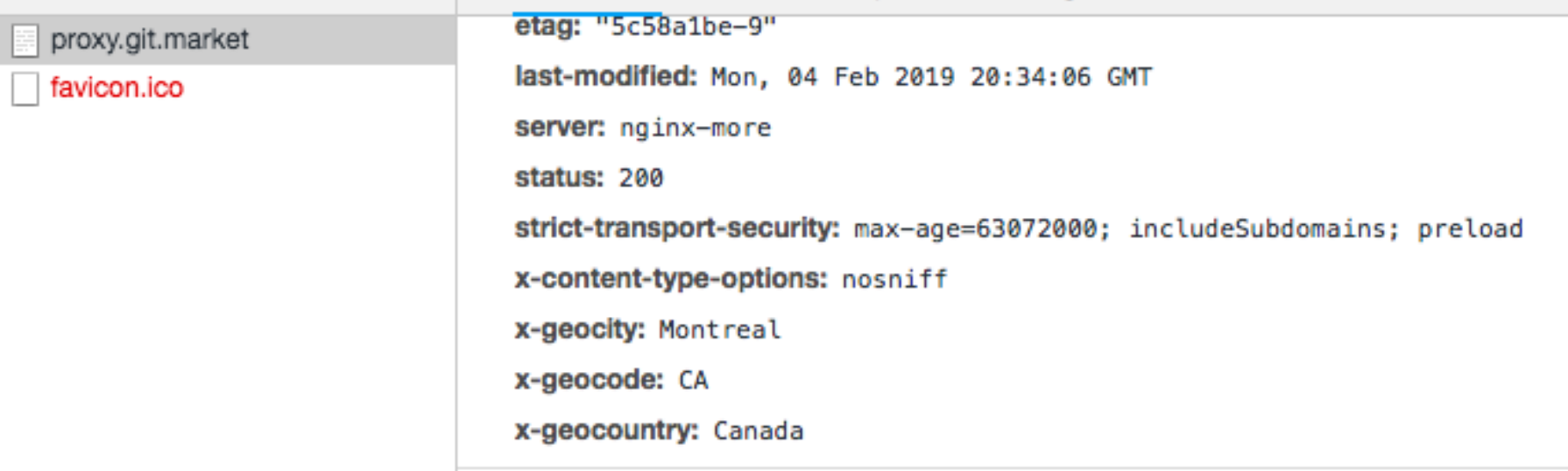GeoIP discontinuation