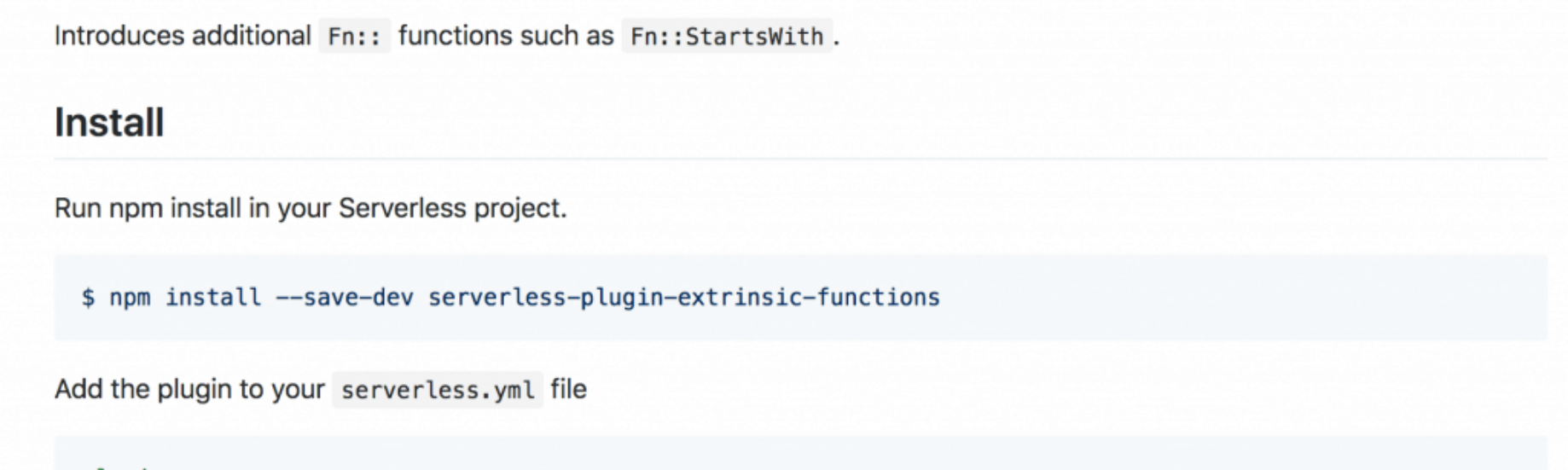 Introducing    CloudFormation extrinsic functions
