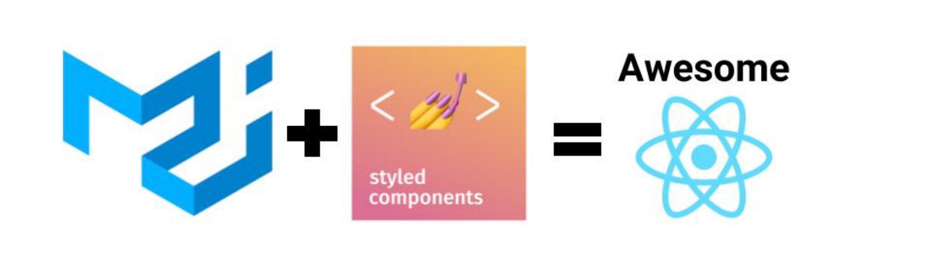 How to use styled components with Material UI in a React app