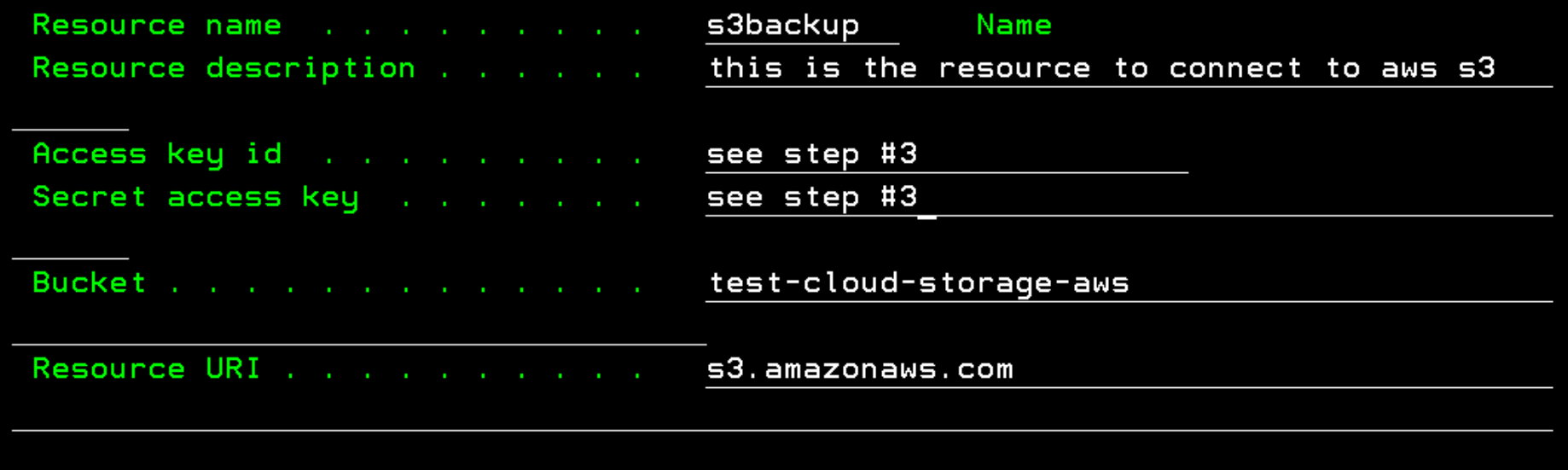 Integrating IBM Cloud Storage Solutions for i with AWS S3