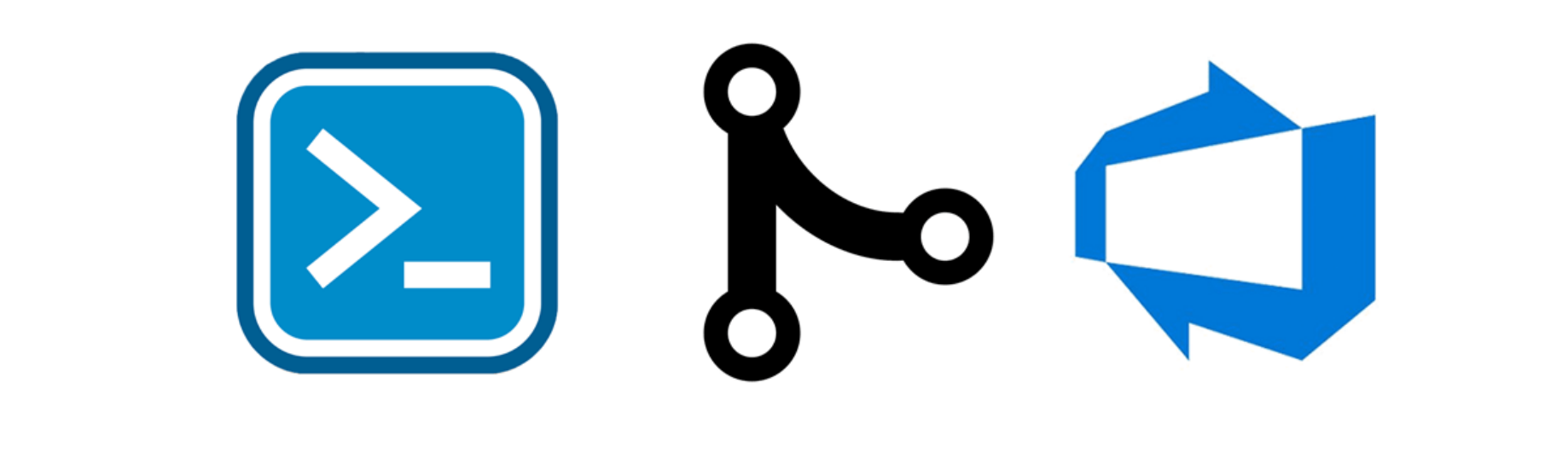 Automating GIT merges with Powershell and Visual Studio Team
