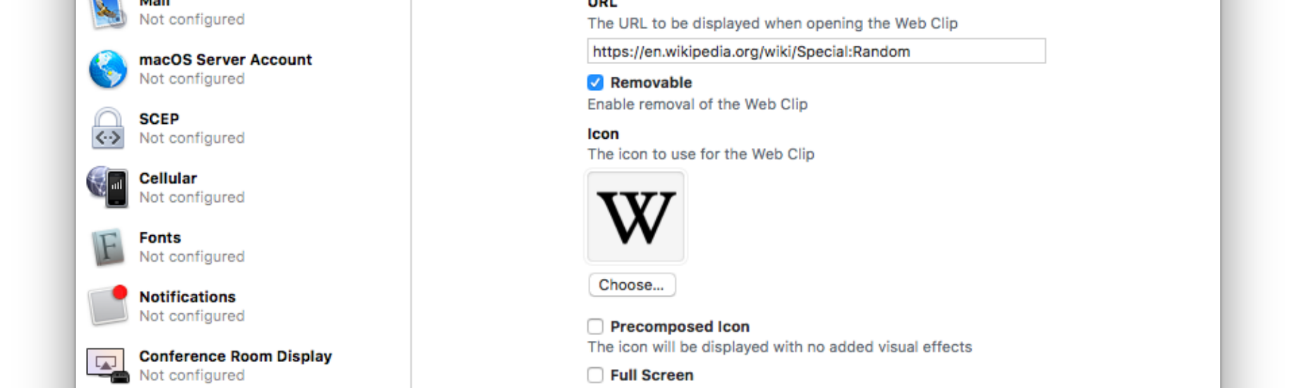 Adding a shortcut to a random Wikipedia article to your