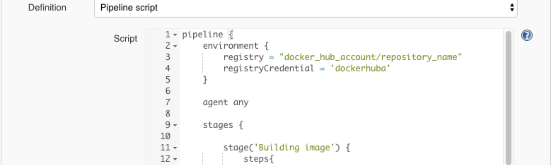 Jenkins Building Docker Image and Sending to Registry
